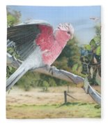 My Country - Galah Fleece Blanket