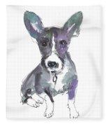 My Dog Ultra Violet Fleece Blanket