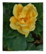 My First Yellow Rose Fleece Blanket