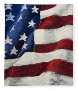 My Flag Fleece Blanket