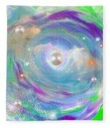 My Galaxy Too Fleece Blanket