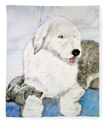 My Hero Fleece Blanket