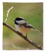 My Little Chickadee Fleece Blanket