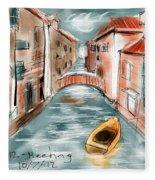 My Own Venice Fleece Blanket