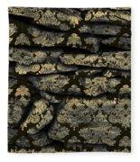 My Pretty Rock Wall Fleece Blanket