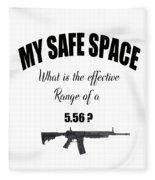 My Safe Space Fleece Blanket