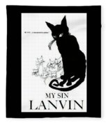 My Sin Fleece Blanket