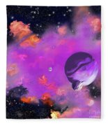 My Space Fleece Blanket