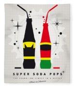 My Super Soda Pops No-01 Fleece Blanket