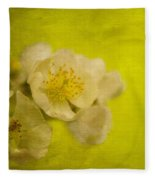 My Sweet Wild Rose Fleece Blanket