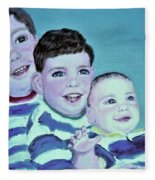 My Three Sons Fleece Blanket