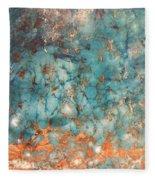 My Turquoise Fleece Blanket