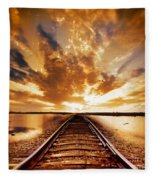 My Way Fleece Blanket