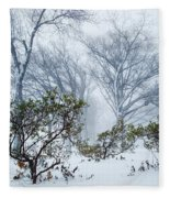 My Winter Love Fleece Blanket