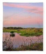 Myakka Wetlands By H H Photography Of Florida Fleece Blanket