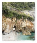Mylopotamos Beach, Pelion, Greece Fleece Blanket