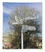 Mylor Signpost Fleece Blanket