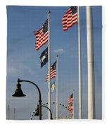Myrtle Beach Boardwalk II Fleece Blanket