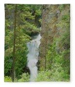 Myrtle Creek Falls  Fleece Blanket