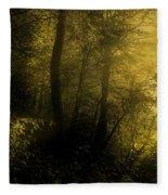 Mysterious Forest Fleece Blanket
