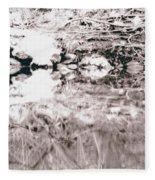 Mysterious Waterline Fleece Blanket