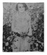 Mystery Lady Fleece Blanket