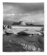 Mystery Valley Overlook Ir 0550 Fleece Blanket