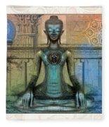 Mystic Ancient Prayers  Fleece Blanket