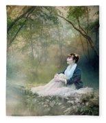 Mystic Contemplation Fleece Blanket