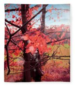 Mystic Day  Fleece Blanket