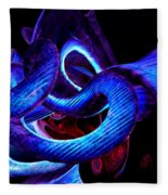 Mystic Love Abstract Fleece Blanket