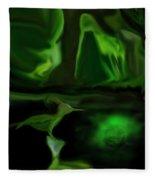Mystic Wetlands Fleece Blanket