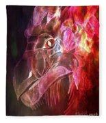 Mystical Dragon 2 Fleece Blanket