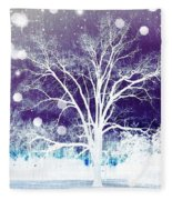 Mystical Dreamscape Fleece Blanket