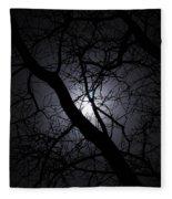 Mystical Moon Fleece Blanket