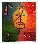 Mystical Notes Fleece Blanket