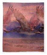 Mystical Trio Fleece Blanket