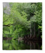 Mystical Withlacoochee River Fleece Blanket