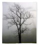 Mysty Tree 3 Fleece Blanket