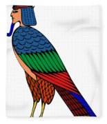 mythical creature of ancient Egypt Fleece Blanket
