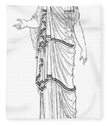 Mythology: Hera/juno Fleece Blanket