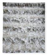 N Y C Waterfall Fleece Blanket