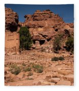 Nabatean's Village Fleece Blanket