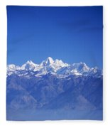 Nagarkot View Fleece Blanket