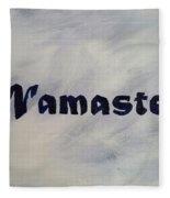 Namaste' Fleece Blanket