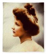 Nancy Witcher Langhorne Astor Fleece Blanket