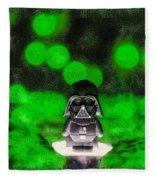 Nano Darth Vader - Pa Fleece Blanket