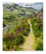 Nant Ffrancon Footpath Fleece Blanket