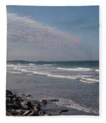 Nantasket Beach Fleece Blanket