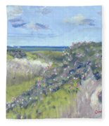 Nantucket June Dunes I Fleece Blanket